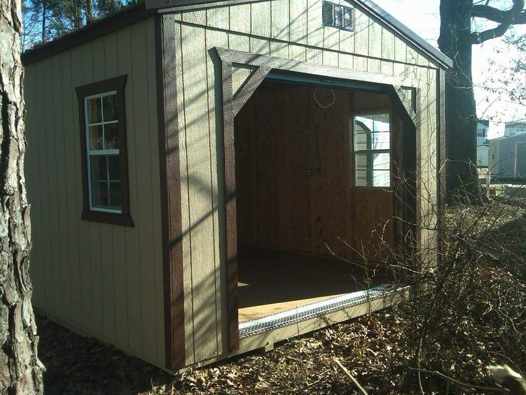 shed wooden siding